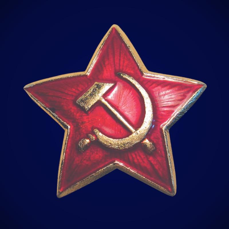 Звезда кокарда РККА 1922 г.