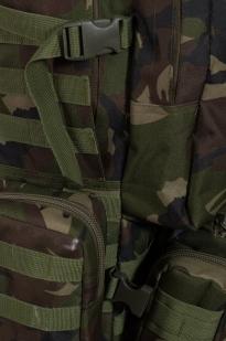 """Тактический рюкзак US Assault камуфляж Woodland с эмблемой """"Россия"""""""