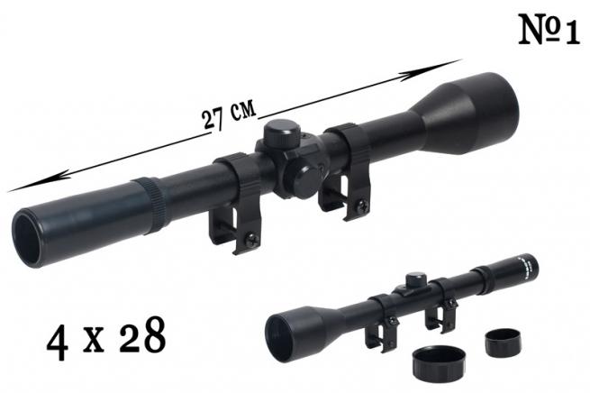Оптический прицел для охотничьего карабина Tasco 4x28 (№1)