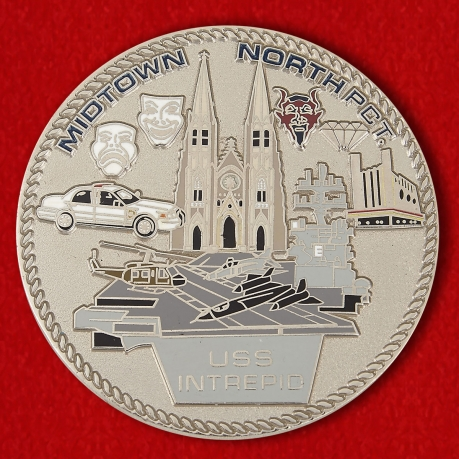 018 Precinct New York City Police Challenge Coin