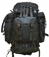 100-литровый модульный тактический рюкзак (черный)
