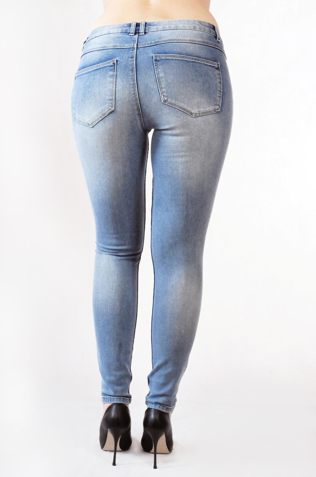 Классика денима - светлые джинсы скинни от Vila®