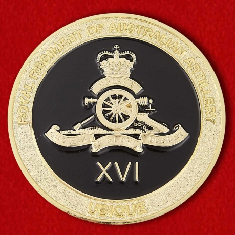 16th Royal Air Land Regiment Of Australian Army Challenge Coin