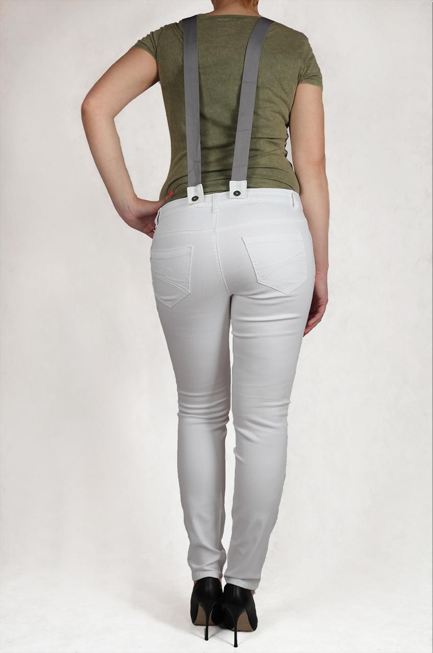Белый джинсовый комбинезон из коллекции лето-2017 от Arizona Jeans®