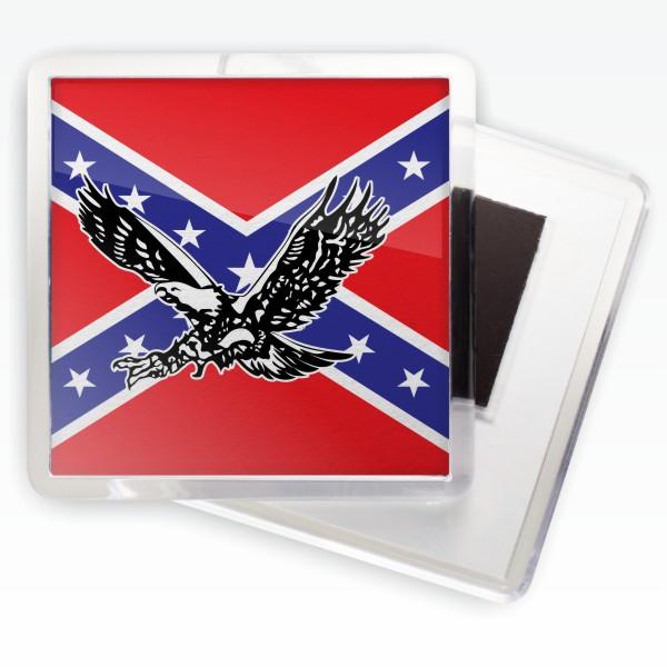 Магнитик «Флаг Конфедерации с орлом»