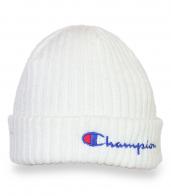 Практичная белая шапка с логотипом Champion
