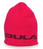 зимняя яркая женская шапка