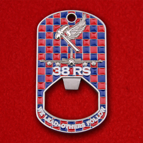 38th Royal Air Force Squadron Bottle opener