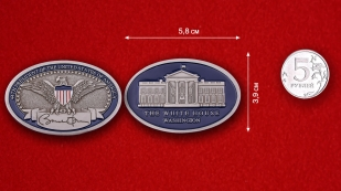 44th President Of The United States Of America Challenge coin