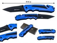 Складной нож танто Wartech PWT215BL (синий)