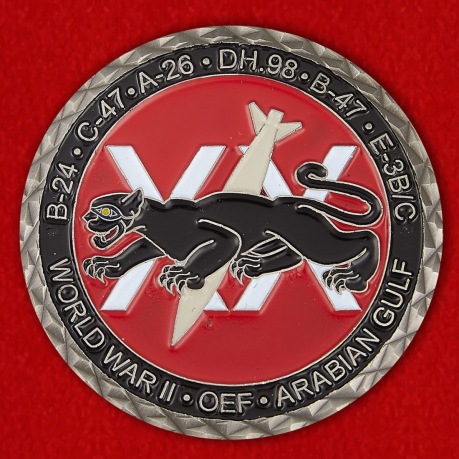 698th Expeditionary Airborn Air Control Squadrone USAFCENT Challenge Coin