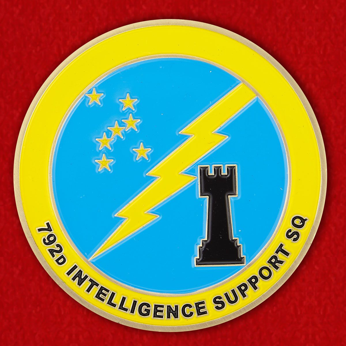 782D Intelligence Support, SQ Challenge Сoin