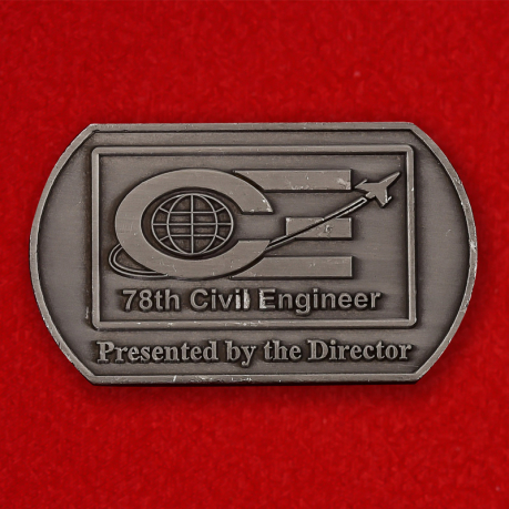 78th Civil Engineer Group Robins AFB, Georgia Challenge Coin - obverse