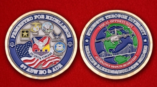 87 ABW EO&ADR Challenge Coin - comparative size