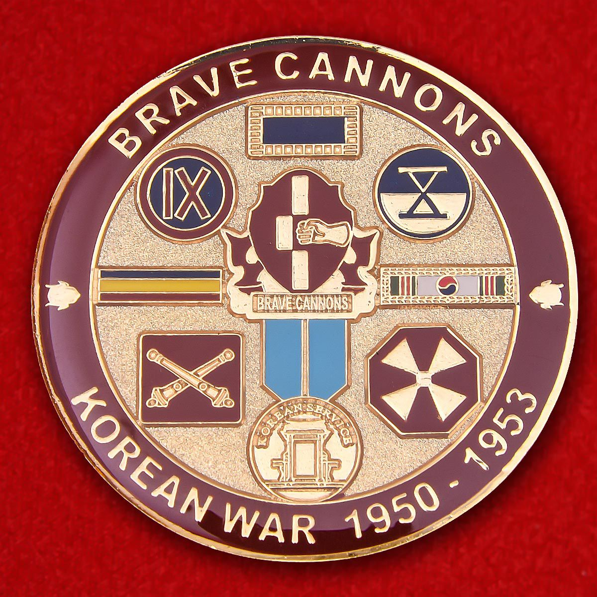 92nd Field Artillery Regiment Challenge Coin