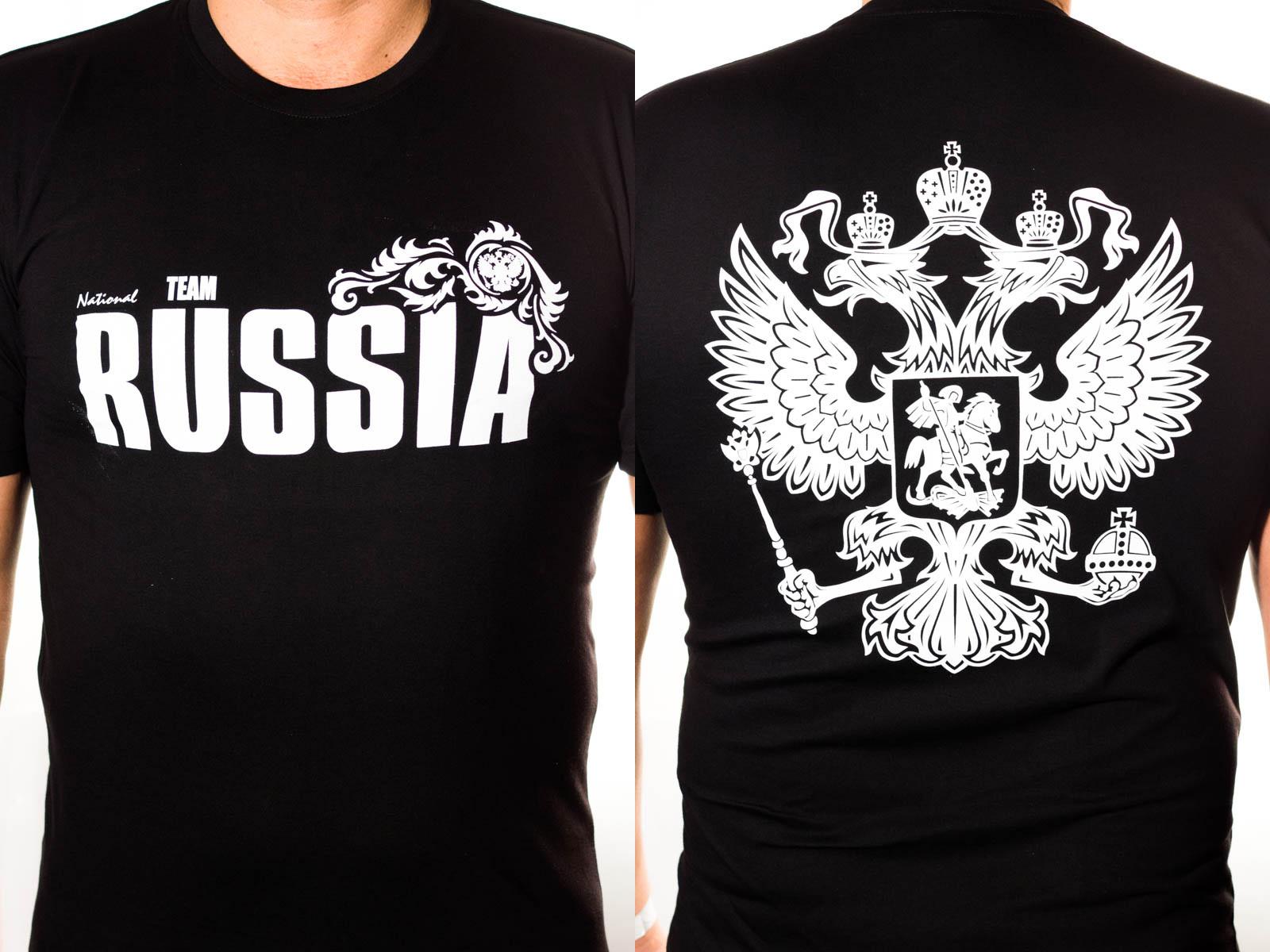 "Мужская футболка ""Россия"""