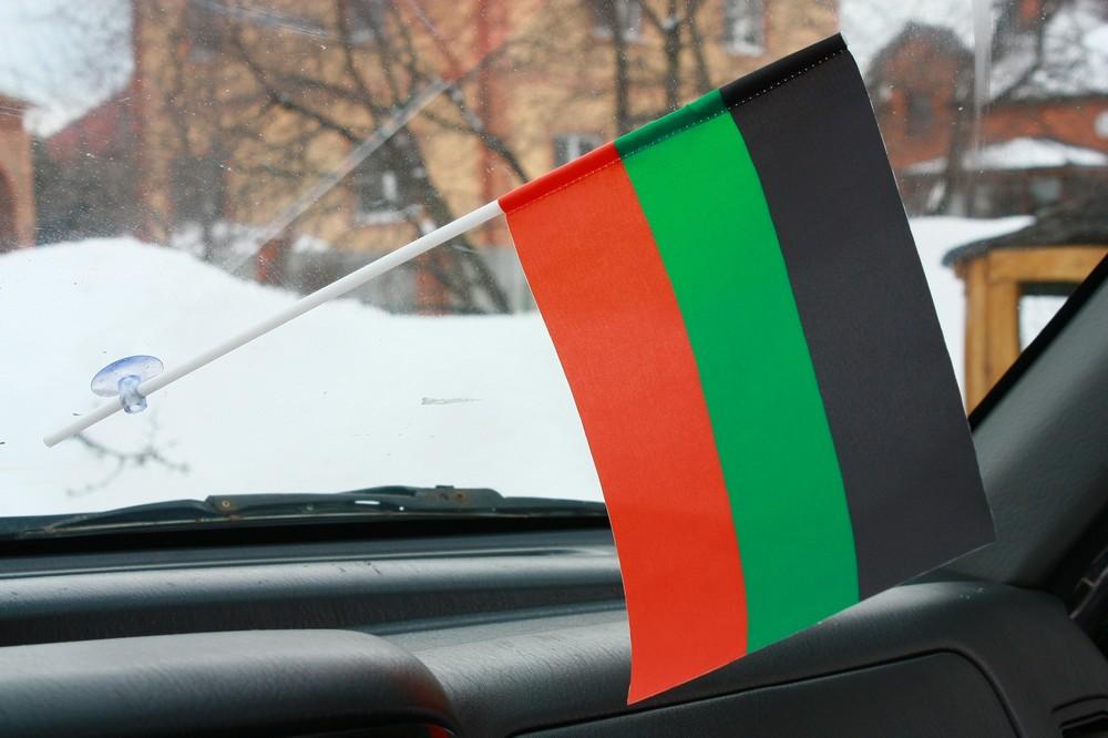 Двухсторонний флаг Терского Казачьего войска