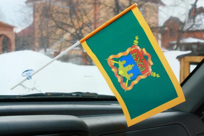Флажок в машину с присоской Иркутское казачье войско
