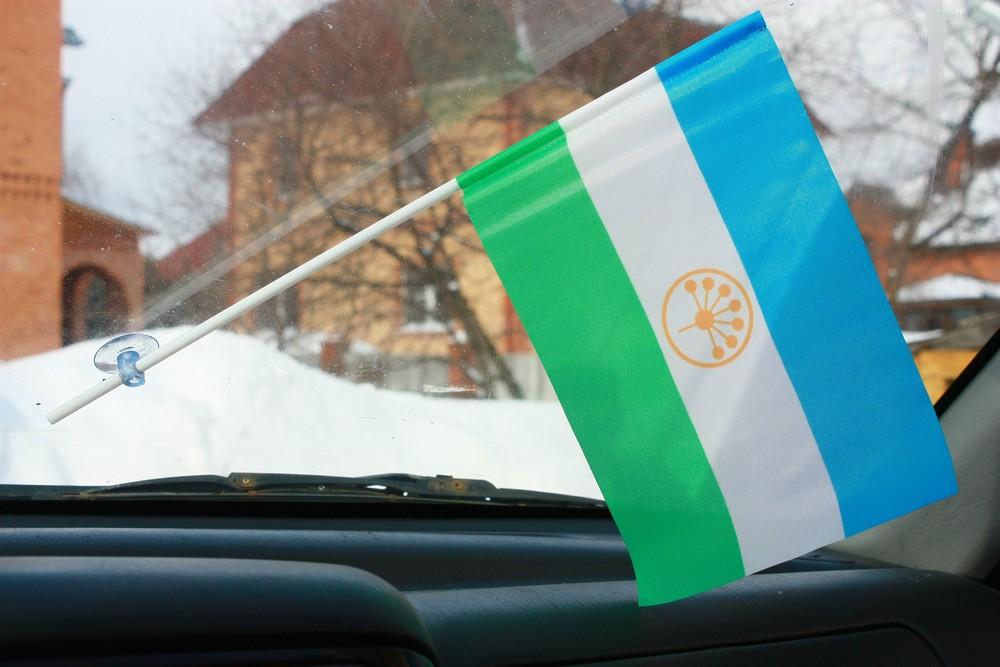 Флажок в машину с присоской Башкирия