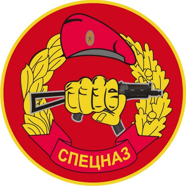 Наклейка «Спецназ» берет