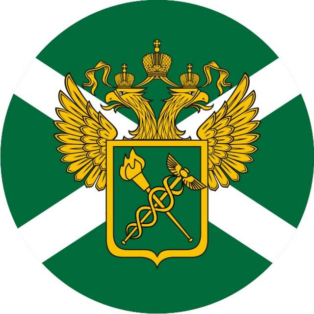 Наклейка «Таможня» с гербом