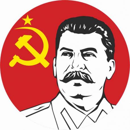 Наклейка «Маршал Сталин»