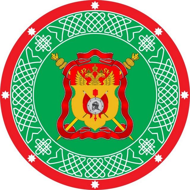 Наклейка «Знамя Сибирское Казачье войско»