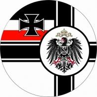 Наклейка «Флаг Императорских ВМС Германии»