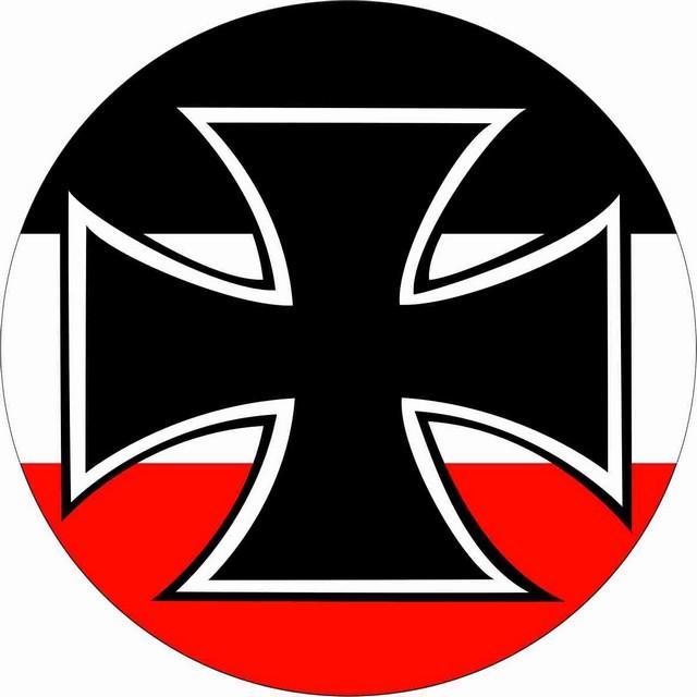 Наклейка «Гюйс Императорских ВМС Германии»