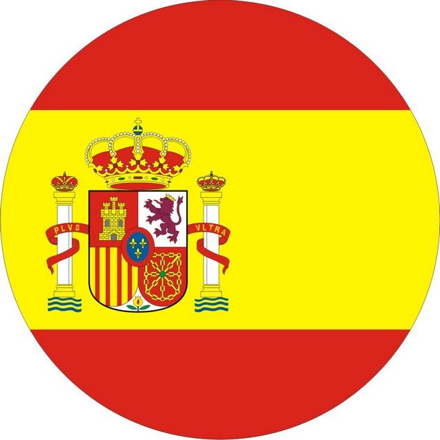 Наклейка «Флаг Испании»