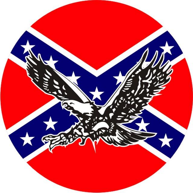 Наклейка «Флаг Конфедерации»