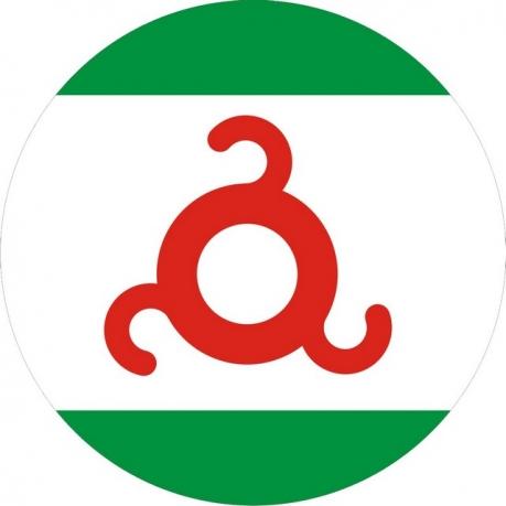 Наклейка «Флаг Ингушетии»