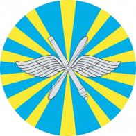 Наклейка «ВВС РФ»