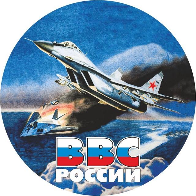 Наклейка ВВС «МИГ 29»
