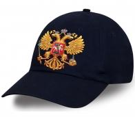 А ты готов к Чемпионату мира? Тогда стильная хлопковая кепка с авторским принтом от Военпро с Государственным Гербом РФ, то что тебе нужно, причем по лучшей цене
