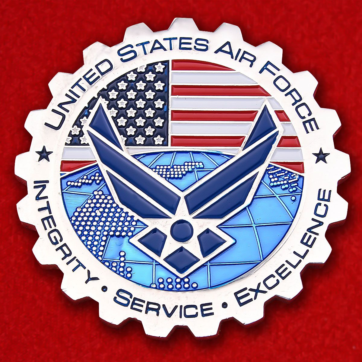AIR Force Civil Engineer Center Challenge Coin