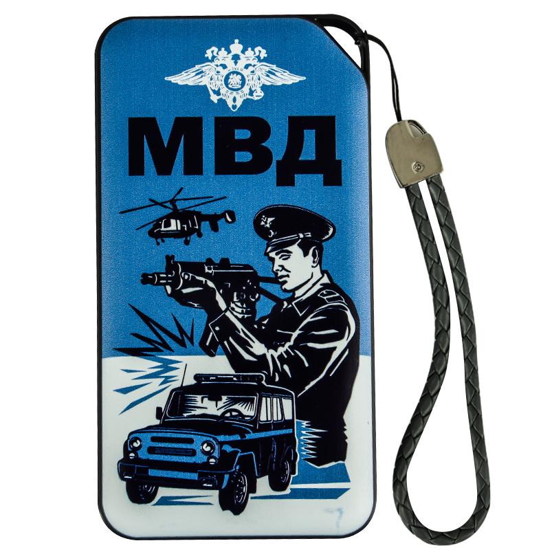 Недорогая батарея повер банк с эмблемой МВД
