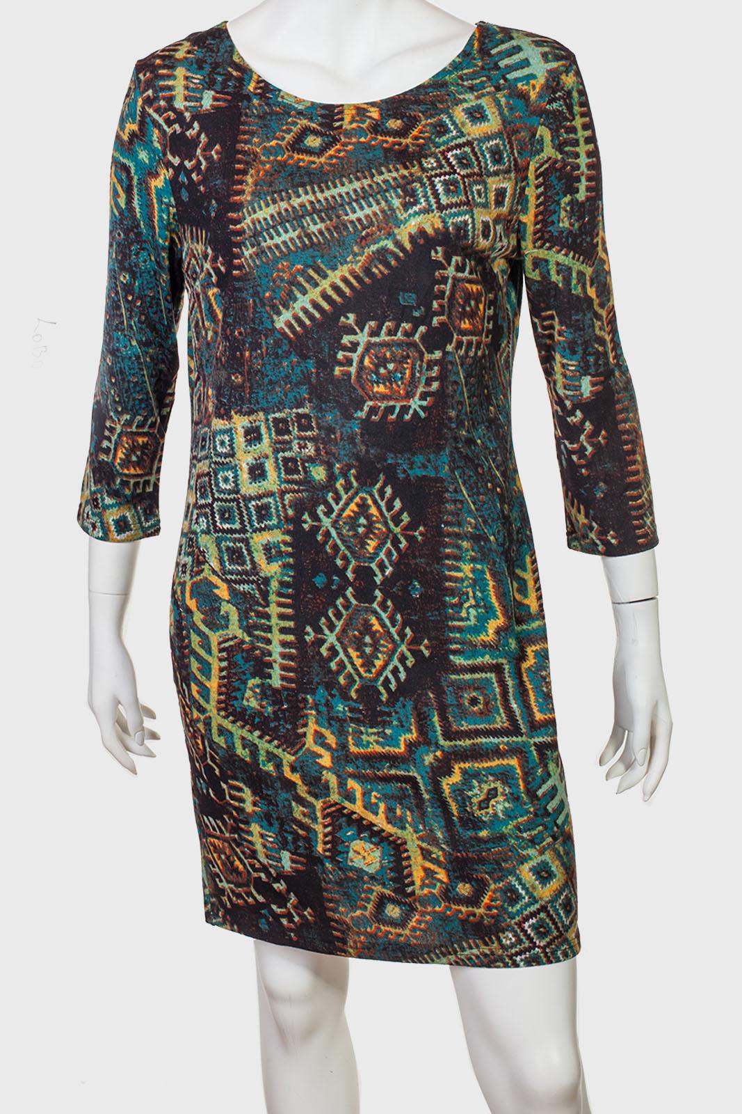 Аккуратное длинное платье от LOBO