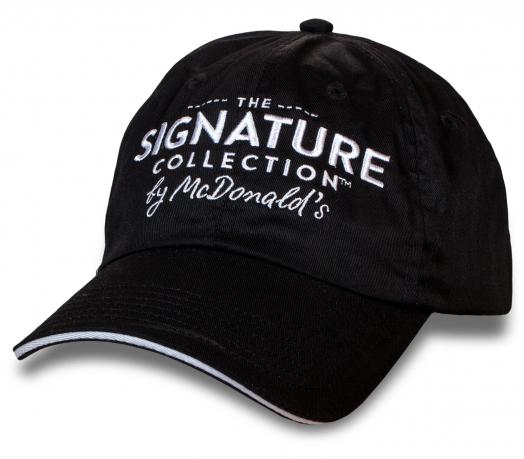 Актуальная бейсболка Signature Collection by McDonald`s