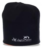 Актуальная мужская черная шапка бини