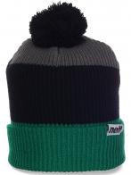Актуальная мужская шапка с помпоном от Neff для спорта и отдыха