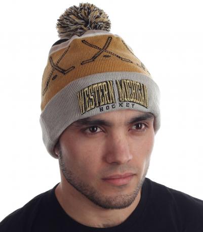Актуальная мужская шапка ярым фанатам зимнего спорта