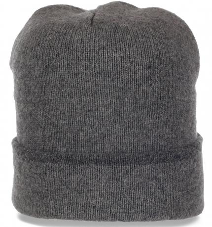 Актуальная мужская шерстяная шапочка