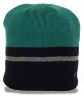 Трендовая мужская шапка СК на флисе