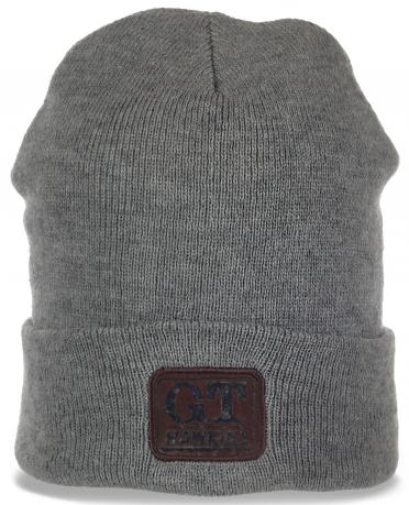 Актуальная зимная мужская шапка на флисе от GT Hawkins