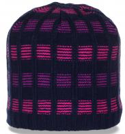 Актуальная зимняя женская шапка с флисом для ценителей активного образа жизни
