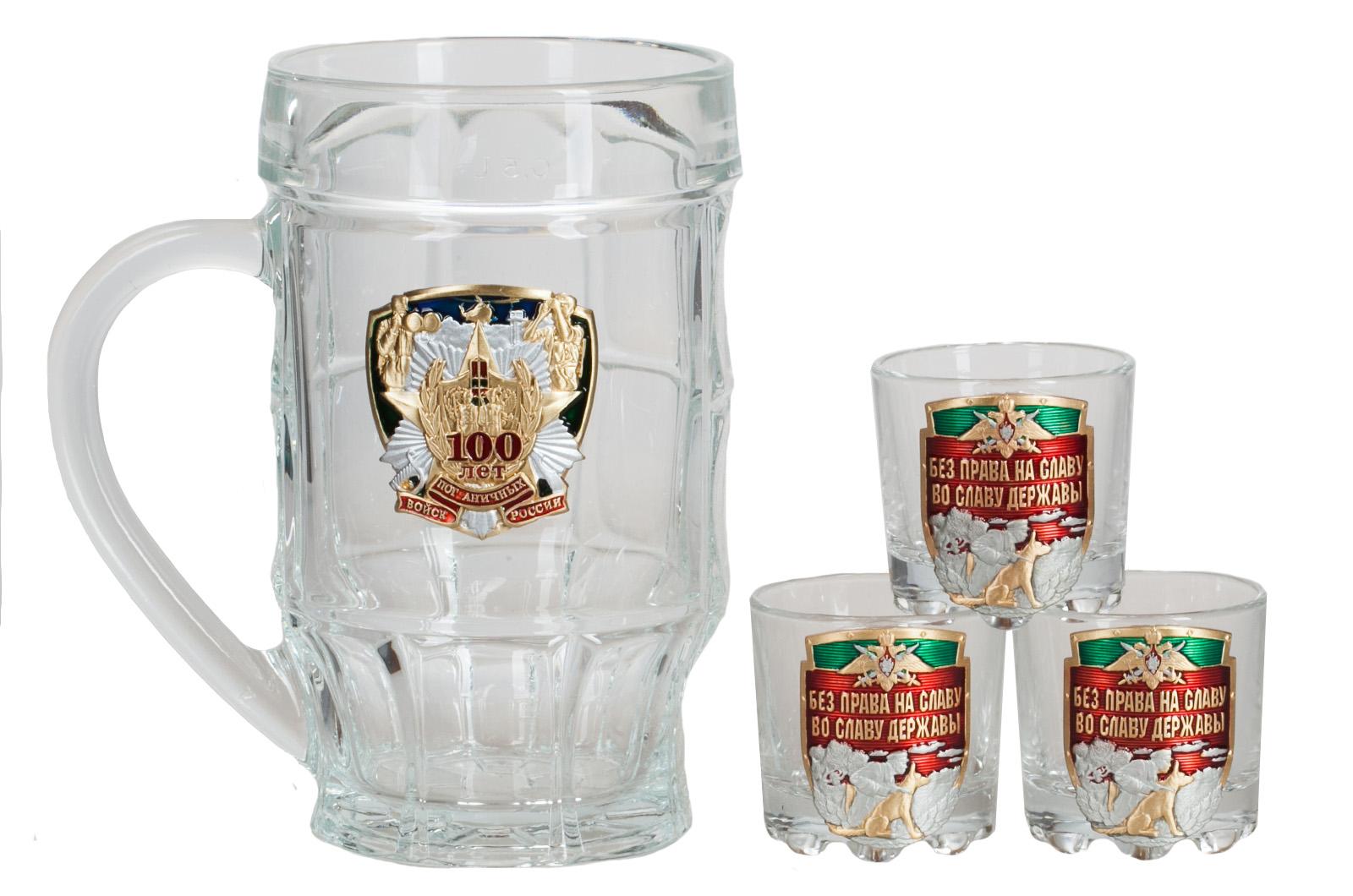 Алкогольный набор в подарок пограничнику от дизайнеров Военпро