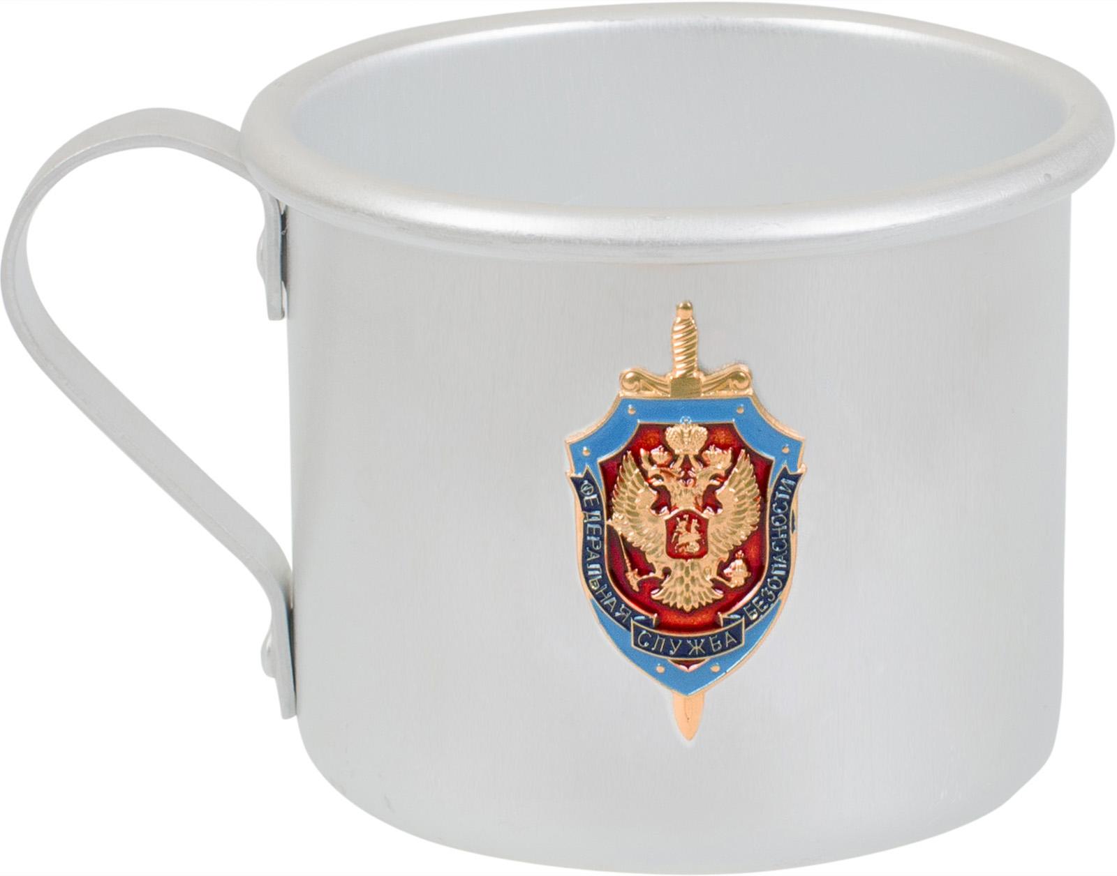 """Алюминиевая кружка """"ФСБ"""""""