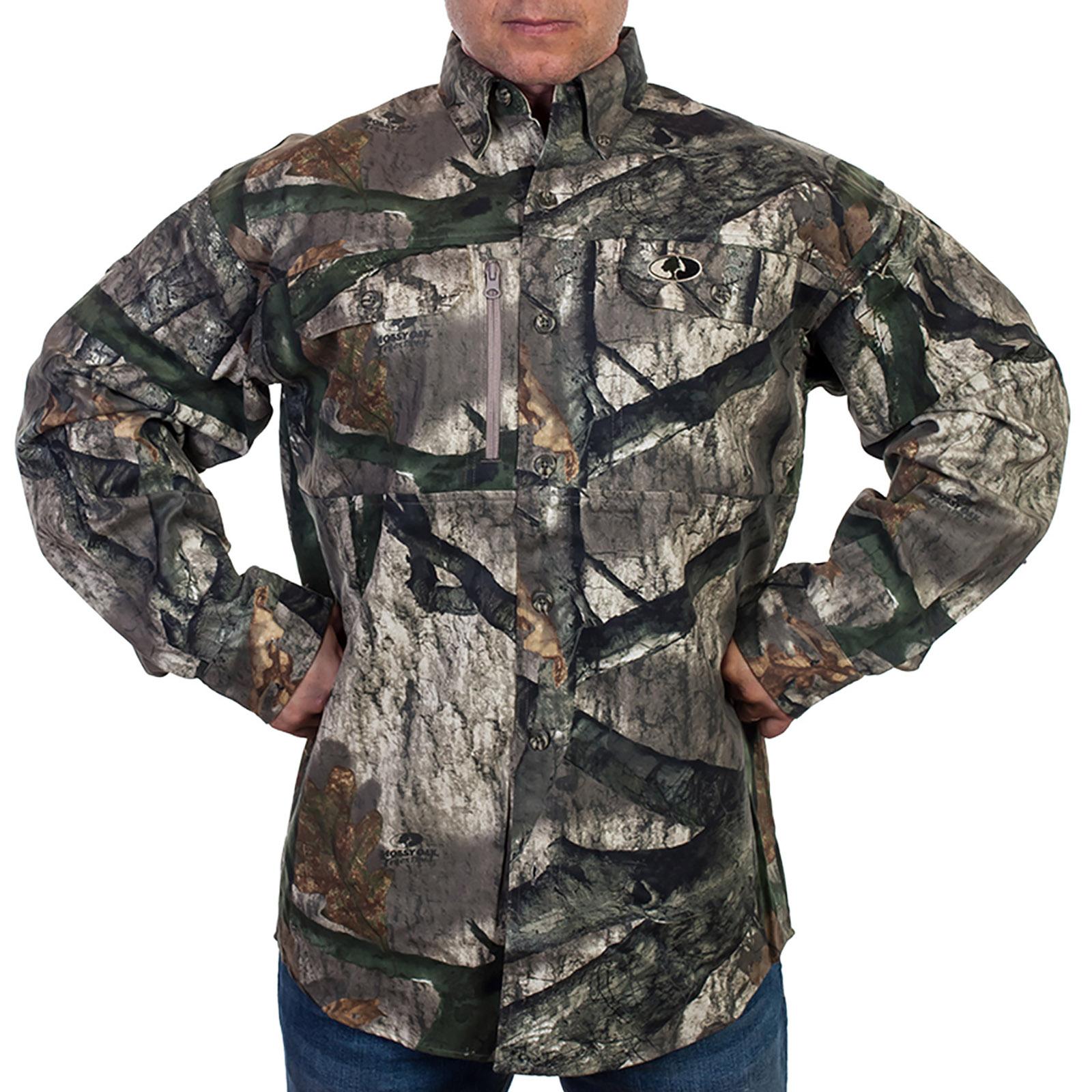 Американская мужская рубашка Mossy Oak