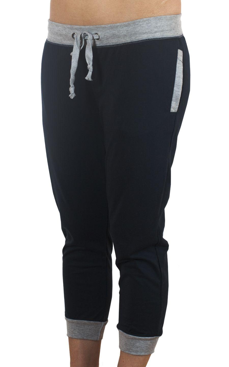 Американские брюки капри Coco Limon для фитнес-тренинга - вид спереди